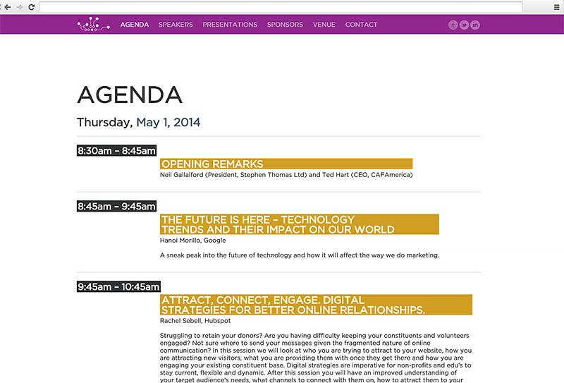 Digital Leap - Conference Website