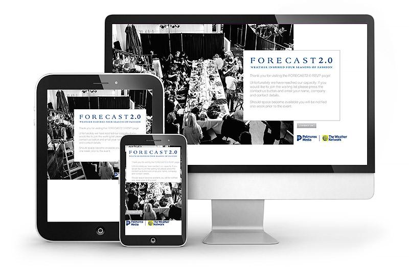 Forecast Fashion 2.0 Responsive Website Design